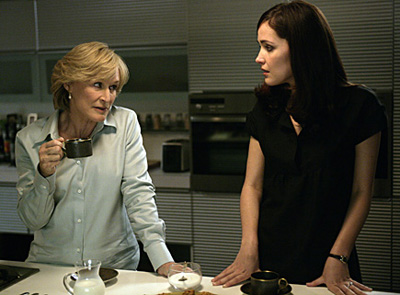 Glenn Close as Patty Hewes in Damages is manipulative, bossy, demanding and driven. She isn't the easiest person to work for, but she knows her stuff.