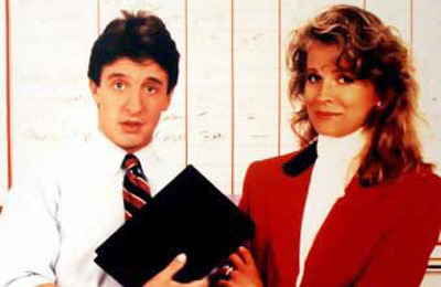 Miles Silverberg makes a lot of management mistakes in Murphy Brown. Hyper, anxious, indecisive -- but he grows into the job.