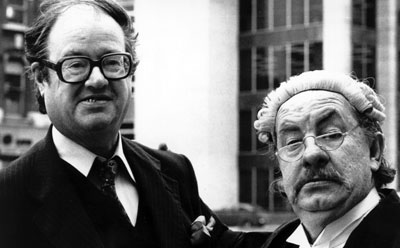 Leo McKern as Horace Rumpole is an irascible barrister, but he manages his clients and their cases to the utmost of his estimable abilities.